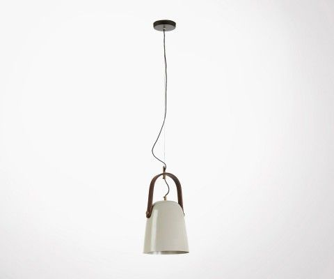 GRYL beige metal ceiling light