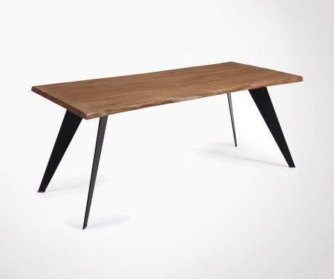 PROUV 180cm aged oak dining table