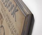 Tableau décoration BOOK - 73x92cm
