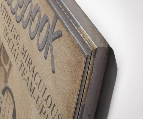 BOOK decorative canvas - 73x92cm