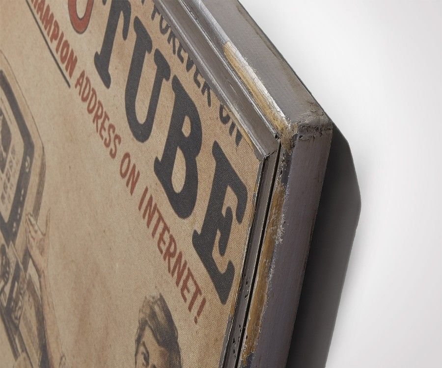 Tableau décoration TUBE - 73x92cm