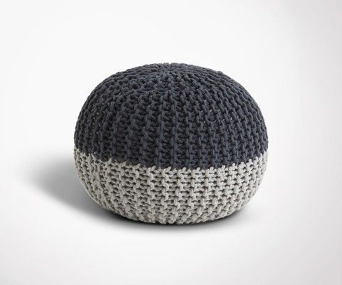 NERCH pouf cotton round - 50x35cm