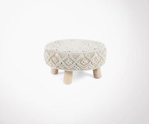 KONDEN ethnic design stool