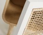 Table de nuit design ethnique ALDINE - 40x60cm