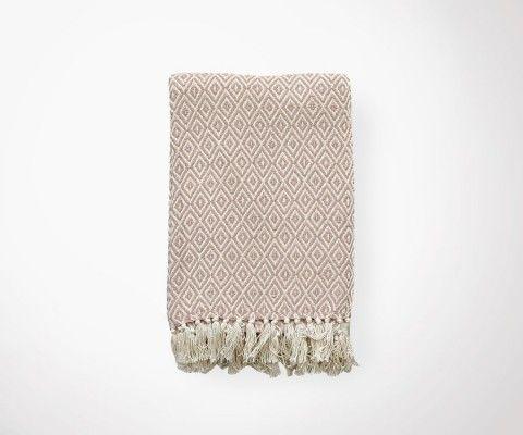 ETHNIC mauve Blanket - 130x180 cm