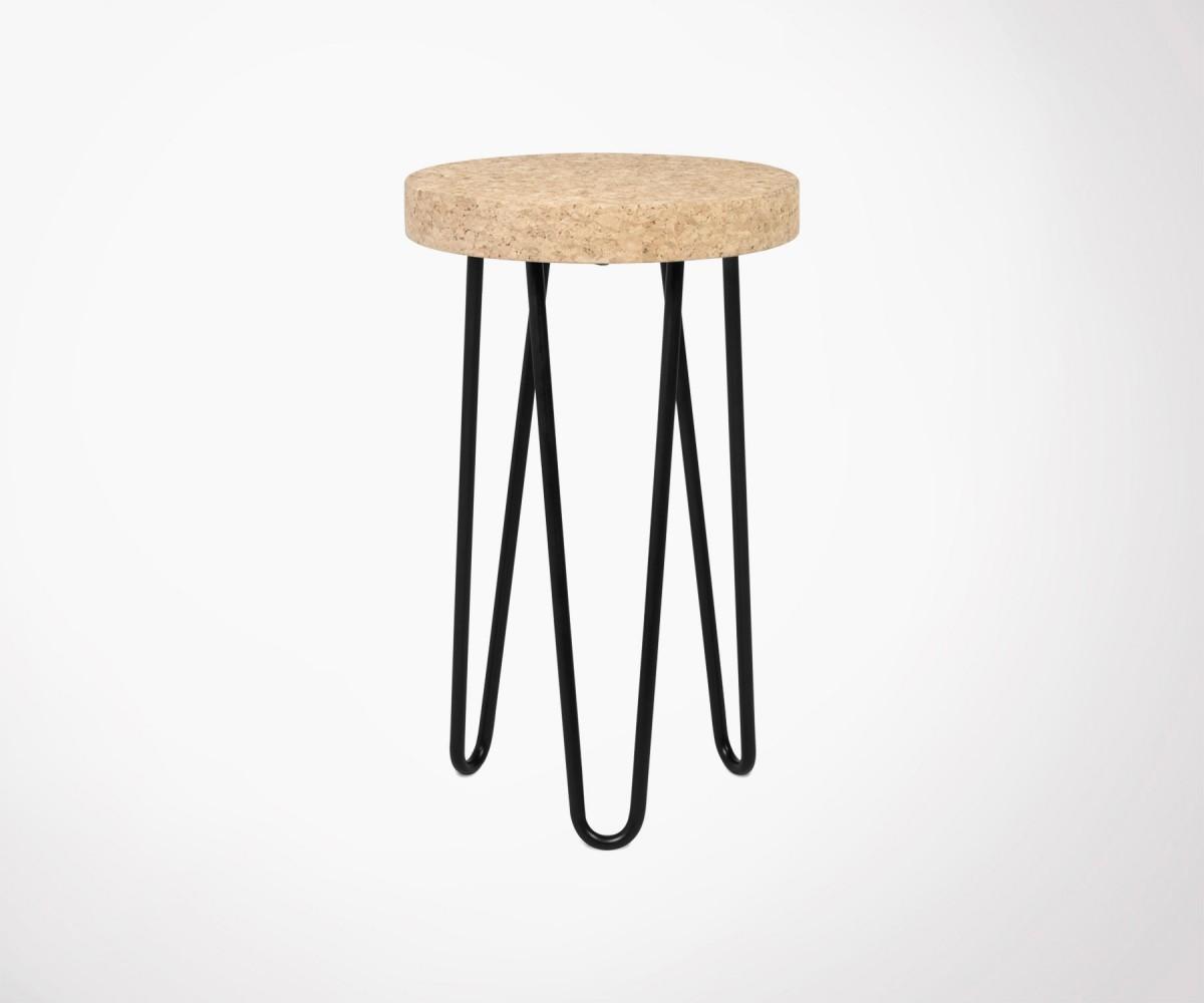 Excellent Petite Table Duappoint Design Lige Mtal Drum Cm Loading Zoom With  Design Liege