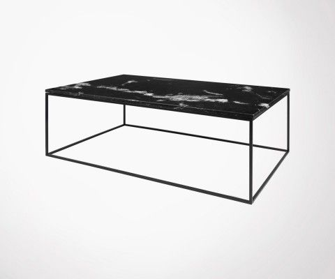 Coffee table 120cm marble or oak GLEAM