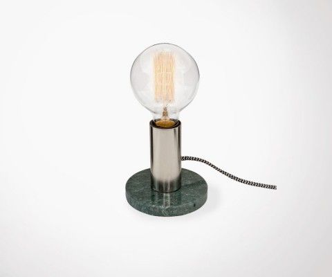 ALTON Office Lamp - Green Marble