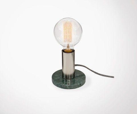 Lampe de bureau ALTON - marbre vert