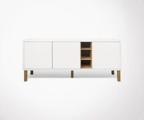 Designer sideboard 3 doors NICHE - Temahome