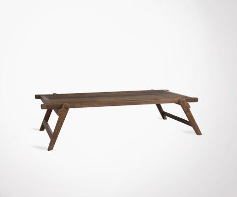 Grande table basse 175cm lit militaire BRANKAR