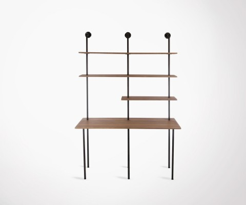 Industrial wall-mounted desk MECANIC