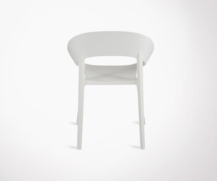 2 chaises design moderne PLASTIK