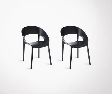 2 modern design chairs PLASTIK