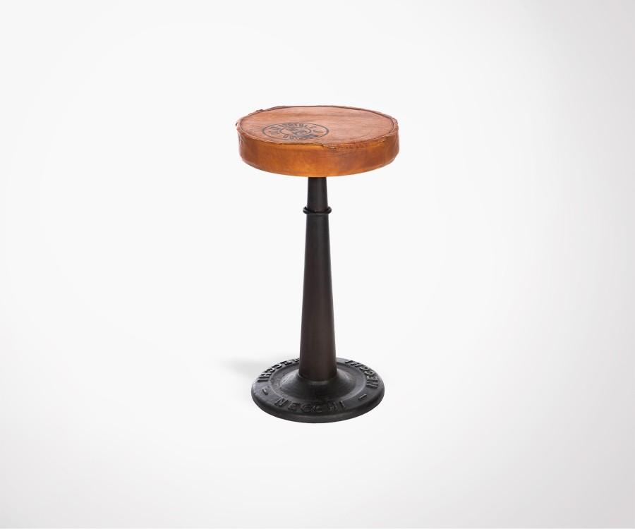 Chaise de bar industrielle en métal POTERI
