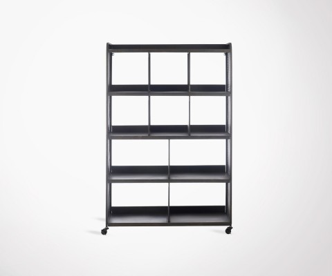 Large shelf 165cm metal mesh YEST