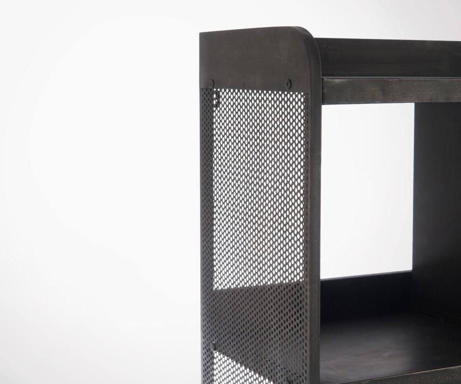 Grande étagère avec compartiments métal YEST