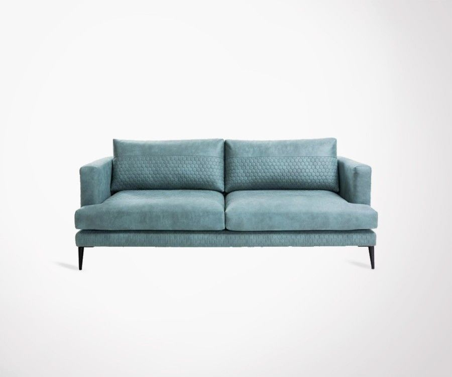 Large Seater Sofa Cm Fabric Colors Scandinave Modern Style - Canapé 3 places tissu