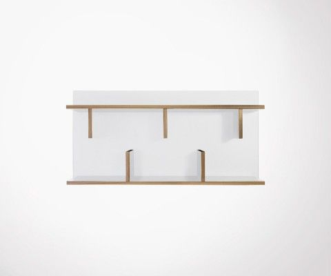 Wall shelf 90cm wood BERN - Temahome