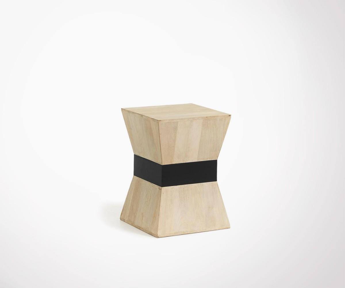 table d 39 appoint en bois manguier design et contemporaine hove. Black Bedroom Furniture Sets. Home Design Ideas