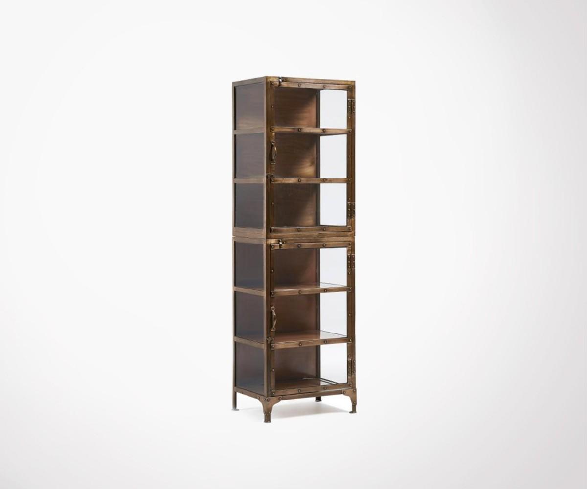 tag re colonne 55x180cm m tal cuivr style vintage. Black Bedroom Furniture Sets. Home Design Ideas