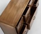 Buffet bas 120x70cm avec tiroirs métal cuivré WOLE