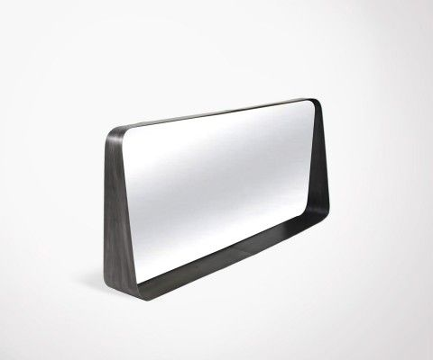 Horizontal mirror 75cm metal BLOOM