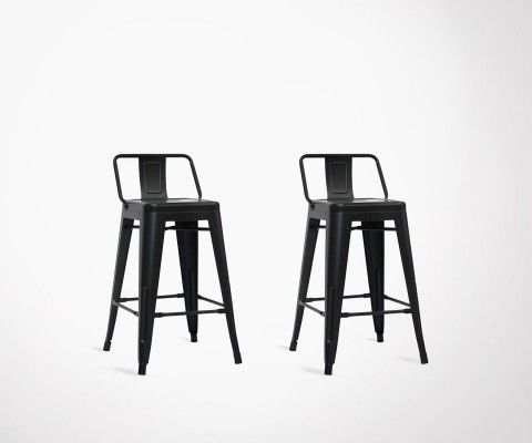 Set of 2 design industrial style bar chair SPYCKER