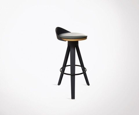 Modern design padded seat barstool ROXAN