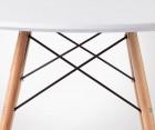 Table à manger scandinave DINING 90cm + 4 chaises FANNY