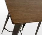 Table de bar COSTY + 2 chaises de bar DEUCE