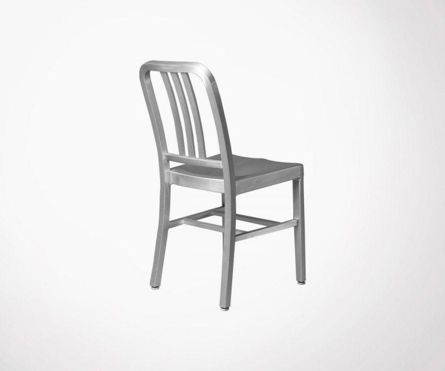 Table métal cuivré DONA + 6 chaises MONTMARTRE