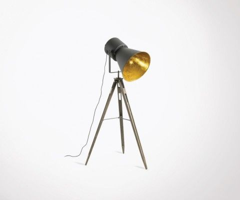 Industrial floor lamp YCAR metal projector