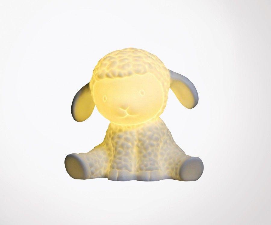 Lampe de chevet enfant céramique MOUTON