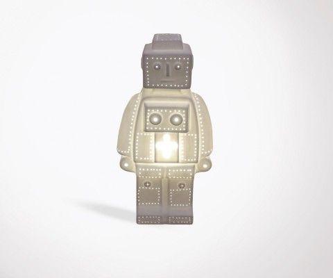 Lampe de chevet enfant porcelaine ROBOT