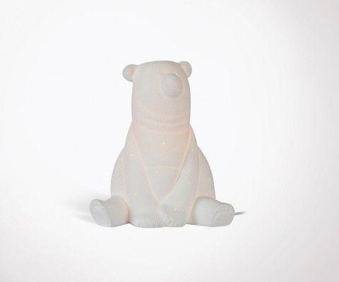 Lampe de chevet enfant porcelaine OURS