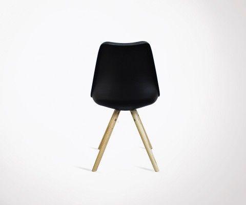 Set of 2 scandinavian design dining chair CHARLIE