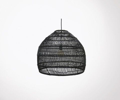 Suspension Bulle Osier Naturelle Style Boheme Et Tropical Hk Living