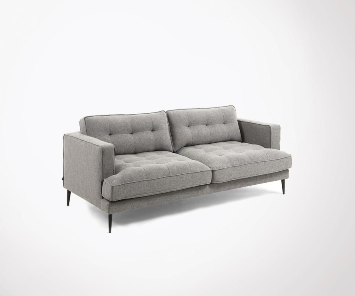 craquez pour ce canap 3 places confortable et design en tissu. Black Bedroom Furniture Sets. Home Design Ideas