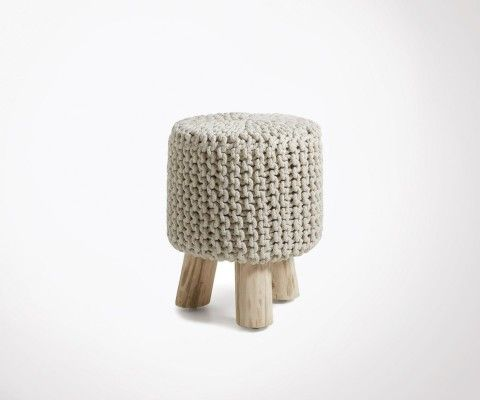 WIZZ eucalyptus and cotton wood footrest