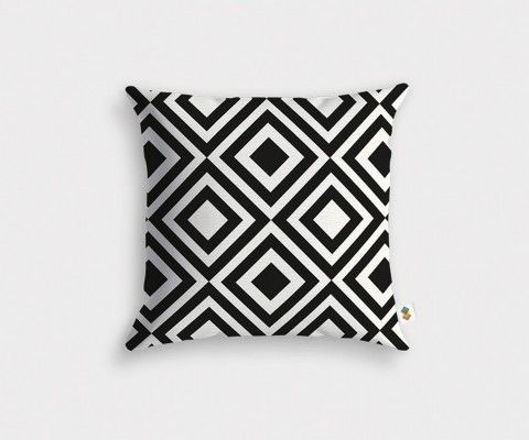 Geometric cushion cover MAZE