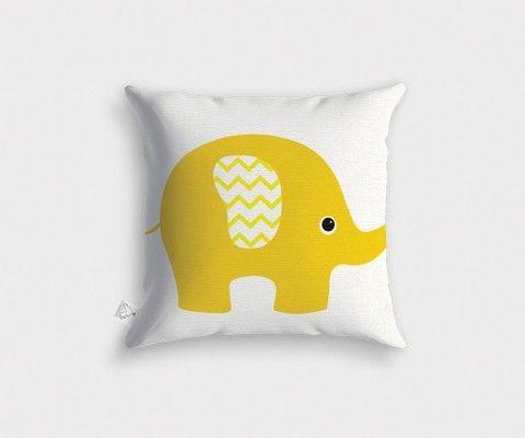 Yellow BARN Cushion - 45x45cm