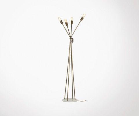 Lampadaire design industriel 165cm ALMEX