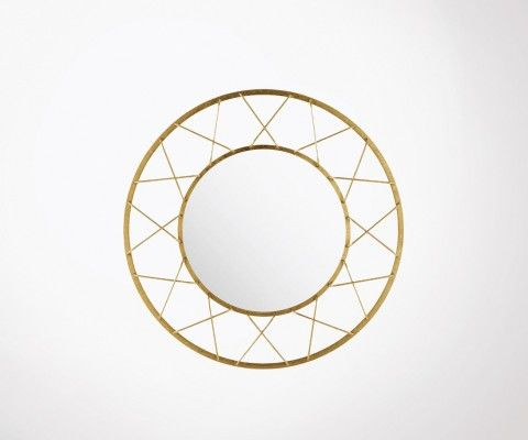 Grand miroir design art déco 91cm YON