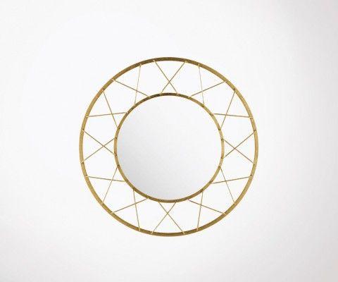 Grand miroir design art déco 91cm YON