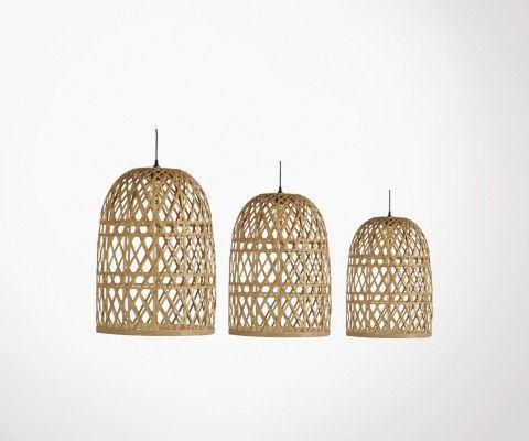Trio abats-jour cages style oriental ZAZATT