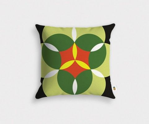 NENUPHARE vintage design cushion cover
