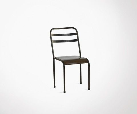 Coffee style metal chair RANDY