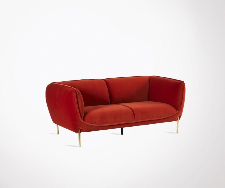 Canapé 3 places style art déco VIKTORINE