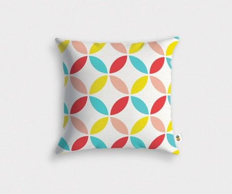 ROSACE geometric cushion cover